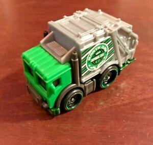 Hot Wheels Total Disposal #139 HW '21 Metro 8/10 Green/Gray Loose VHTF!