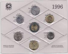 SERIE  DIVISIONALE REPUBBLICA ITALIANA DEL 1996  FDC