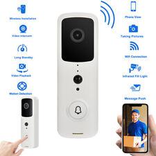 Home Wireless WiFi Video Doorbell Smart Door Bell Cordless Portable 50M