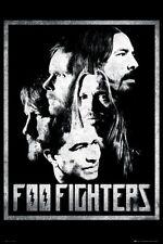 Foo Fighters Poster fea Dave Grohl Mendel Hawkins Shiflett Smear 24x36