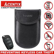 New Car Key Keyless Entry Fob Signal Guard Blocker Black Genuine Faraday Bag UK