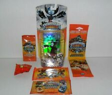 SKYLANDERS GIANTS HEX LIGHTS UP & TOPPS TRADING CARDS DOG TAGS STICKERS LOT