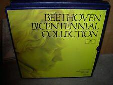 KARAJAN / BEETHOVEN symphonies & overtures vol 2 / bicentennial - 5lp box set