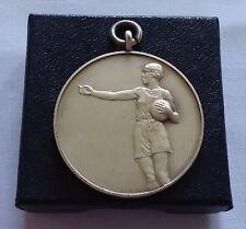 Vintage Sport Medal Netball John Pinches