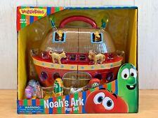 Veggie Tales Noah's Ark Play Set Nib