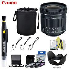 Canon EF-S 10-18mm f/4.5-5.6 IS STM Lens For Canon Rebel T5i T5 T6i T3i T3 T4i