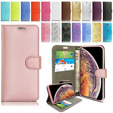 Case for iPhone 6 5C Xperia Z3 Galaxy S6 Cover Real Genuine Leather Flip Wallet