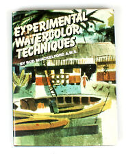 EXPERIMENTAL WATERCOLOR TECHNIQUES BOOK BY BUD SHACKELFORD A.W.S.