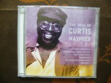 CD THE SOUL OF CURTIS MAYFIELD /  Km International Consultants  NEUF BLISTER