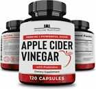 Organic Apple Cider Vinegar Capsules 120  1500 mg with...