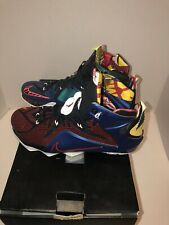 Nike Lebron XII 12 What The Multi-Color Size 10.5