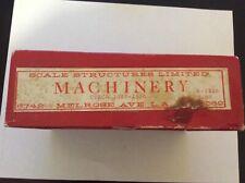 SS Ltd. Machinery kit.  K-113B Circa 1908-1930  NOS Original Box  HO/HOn3