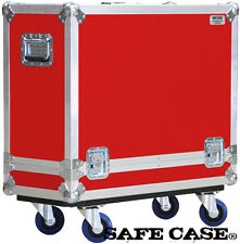 ATA Road Case   Fender 57 Twin-Amp Tweed Combo Amp in RED SAFE CASE