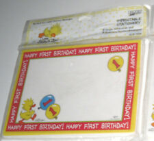 Greeting Baby Cards 8 Stationary For Printing W/Envelopes / See My Other Items!