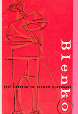 Blenko Glass 1957 Catalog Reprint + Williamsburg Repros