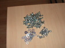200 PIECE M8X20 BOLTS NUTS AND WASHERS