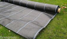 Weed suppressant membrane Heavy Duty Ground cover 100gsm 2m x 50m With Lines