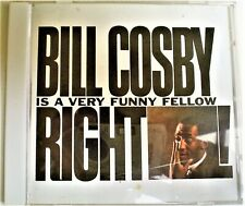 BILL COSBY IS A VERY FUNNY FELLOW: RIGHT - ALMOST LIKE NEW!