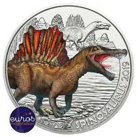 Pièce 3 euros commémorative AUTRICHE 2019 - Spinosaurus, Série Dinosaures (1/12)