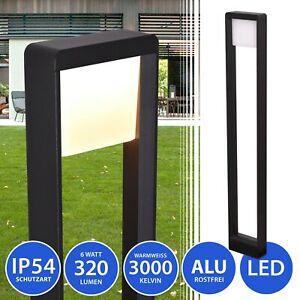 Aussenleuchte Standleuchte LED Stehlampe Schwarz Aussenlampe