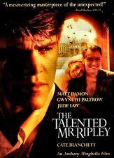 New Dvd- The Talented Mr Ripley - Matt Damon, Gwyneth Paltrow, Jude Law, Cate Bl