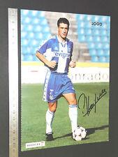 OS CRAQUES D'O JOGO PORTUGAL 1996-1997 FOOTBALL FUTEBOL PEDRO HENRIQUES FC PORTO