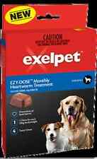 EZY-DOSE™ Monthly Heartworm Treatement For Dogs 10 - 40 kgs Use 4/18