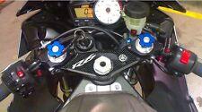 ADESIVO 3D compatibile per R 6 PROTEZIONE PIASTRA FORCELLA MOTO YAMAHA R6 03-04