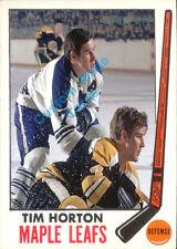 Custom made Topps 1969-70 Toronto Maple Leafs Tim Horton Hockey  card