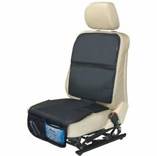 AutoMuko Car Seat Protector for Baby Seat with Mesh Pockets Prevents Skid Marks
