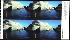 NORWAY 2004 EUROPA: Vacations. Rowing in Fjord. Booklet Block of 2 Pairs, Mint
