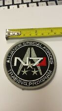 Mass Effect N7 Alliance Iron On Patch Cosplay Costume Movie Science Fiction NEW!