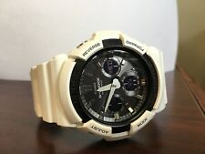 CASIO G-SHOCK White Men's Chronograph Watch - GAS100B-7A  MSRP: $150