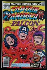 CAPTAIN AMERICA #210 (1977 MARVEL) *RED SKULL APP.* (JACK KIRBY) NM