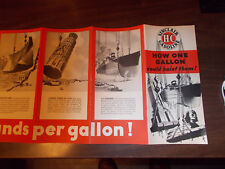 1934 Sinclair Gasoline Brochure