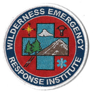 Wilderness Emergency Response EMT EMS NEW Fire Patch