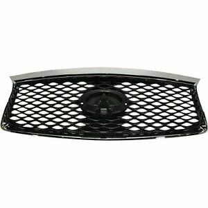 2016 2017 2018 2019 2020 Infiniti QX60 Front Upper Grille chrome