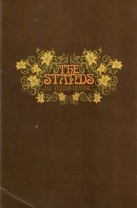 THE STANDS ~ All Years Leaving ~ Rare 2003 UK 12-track PROMO CD, card folder~NEW