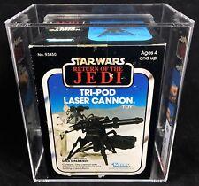 1982 STAR WARS Vintage TRI-POD LASER CANNON Toy MIB MISB AFA Graded 80 NM ROTJ