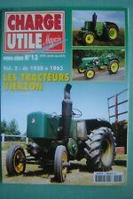revue TRACTEURS VIERZON 1950-1963 / AGRICOLES SEMI-DIESEL SFV /  E.O 1998