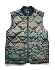 Carhartt Wip Newton Chaleco Forro, verde camuflaje de combate, XL