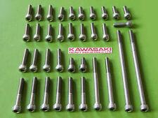 Kawasaki engine cover bolt STAINLESS STEEL SCREWS KIT z1 kz900 kz1000 kz 1000
