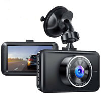 Dash Cam 1080P Full HD Car Driving Recorder 170° Wide Angle 3' LCD Night Vision