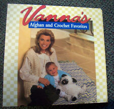 Vanna's Afghan and Crochet Favorites patterns first 8 packets and binder
