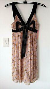 NEW Pen & Ink Dress MANNING CARTELL Size 8-10 RRP $349 Gorgeous *D