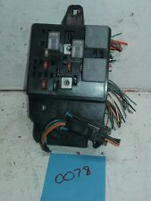 OEM 2002 Saturn L200 RH RF Passenger's Side Interior Electrical Fuse Relay Box