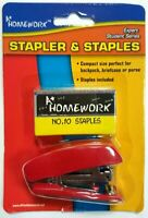Mini-Stapler and Staples Set