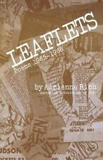 Leaflets : Poems 1965-1968 by Adrienne Rich (1969, Paperback)