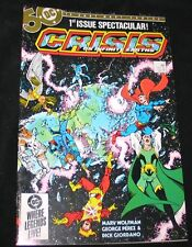 1984 DC CRISIS on INFINITE EARTHS #1 Batman Superman Flash VF+