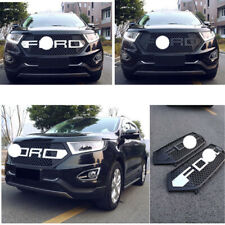 For Ford EDGE 2015-2016 Black or Chrome Front Grille ABS Plastic Grill Vent 1PC